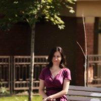 В Парке на скамеечке. :: Дмитрий Скубаков