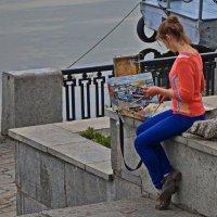 Днепропетровск .На набережной. :: Геннадий Беляков