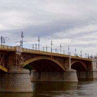 Мост Маргит  через Дунай в Будапеште. :: Ольга