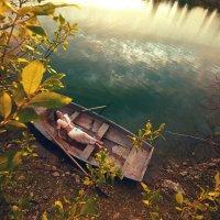 На лодке :: Алексей Андросов