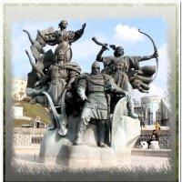 Памятник основателям Киева :: Евгений Кочуров
