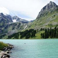 Верхне-мультинское озеро. Алтай :: Елена Коробейникова