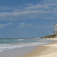 Берег моря в Бат-Яме. Израиль :: Михаил Малец