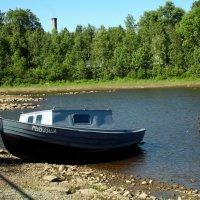 отлив на реке :: Сергей Кочнев