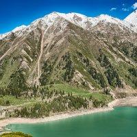 горы у Алма-Атинского озера :: Алексей Кудрявцев