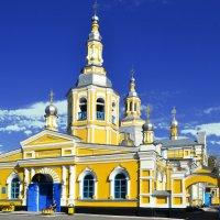 Минусинская церковь :: юрий Амосов