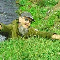На обрыве реки Кача :: алексей полковников
