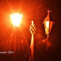 Парковые фонари ... :: Дмитрий Призрак
