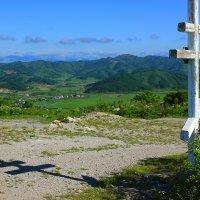 крест на горе :: татьяна
