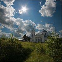Церковь Богоявления Господня в Мишнево :: Игорь Шербаков