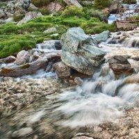Горная речка, питающая Алма-Атинское озеро :: Алексей Кудрявцев