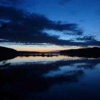 закат на реке :: Алексей Логинов
