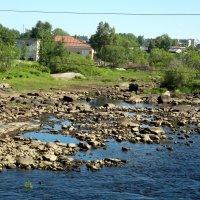отлив на реке Выг :: Сергей Кочнев