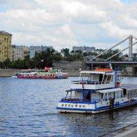 Навигация на Москве-реке. :: Юрий Шувалов