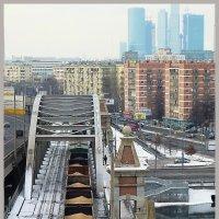 Городской пейзаж :: Наталья Rosenwasser