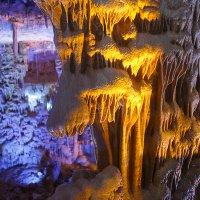 Пещера Сорек, царство сталактитов и сталагмитов. :: Марк Бабич
