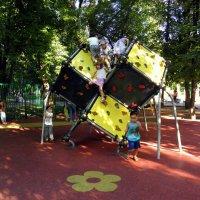 На детской площадке... :: Елена
