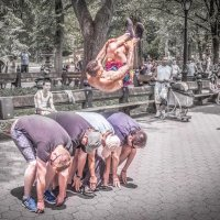 В парке Нью-Йорка :: Лёша