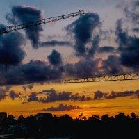 Закатное небо :: Виталий