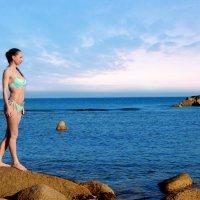 Девушка у моря :: Natalia Babukh