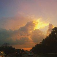 Грозовой закат :: Екатерррина Полунина