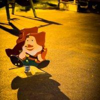 Ночь на детсткой площадке :: Игорь Герман