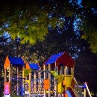 Ночь на детской площадке :: Игорь Герман
