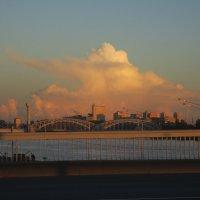 облако над Невой :: Елена
