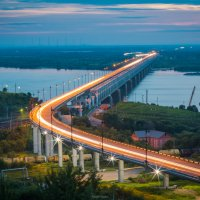мост через р Амур г. Хабаровск :: Timofey Chichikov