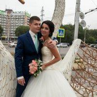 Лебедь с лебёдушкой. :: Viktor Сергеев