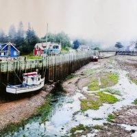 Приплыли.... Такие вот приливы и отливы в Новой Шотландии (Канада) :: Юрий Поляков