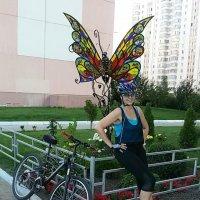 Витражная бабочка :: Galina Belugina
