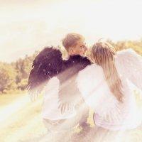 встретились два ангела и полюбили :: Инна