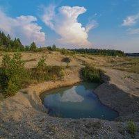 Малой облак в озере спрятался...)) :: Владимир Хиль