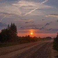 Дорога на закат :: Владимир Макаров