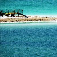 Мини завод по добыче соли  Мертвого моря :: Anna Sokolovsky