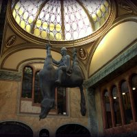 Прага. Памятник князя Вацлава на перевернутом коне. :: Надежда