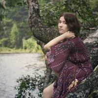 над лесной рекой... :: Алиса Колмагорова