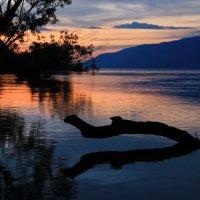 Закат на Телецком озере. Южный Алтай :: Natalya Danilova