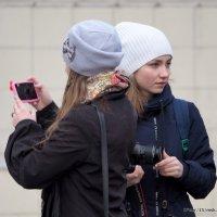 девчонки-фотографы или :: Олег Лукьянов