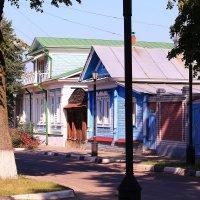 Утренними улочками Городца :: Татьяна Ломтева