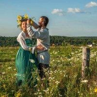 И мы сейчас с тобой вдвоём в прекрасный этот мир войдём :: Ирина Данилова