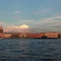Закат над Невой :: Алексей Корнеев