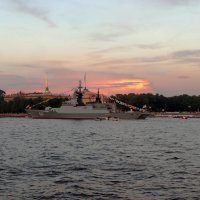 Перед спуском флага :: Алексей Корнеев