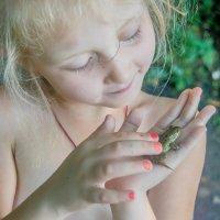 лягушка подружка :: олеся тронько