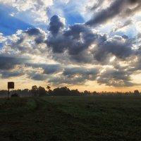 Облачный восход :: Ирина Приходько
