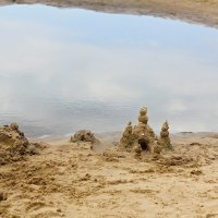 Замок на песке :: Viktor Eremenko