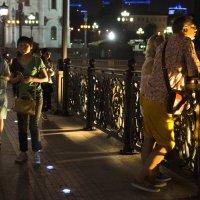 Ночь на кружевном мосту :: Елена Жукова