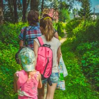 На кэмпинг всей семьёй :: Света Кондрашова