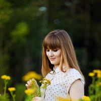 В поле :: Виктория Харламова